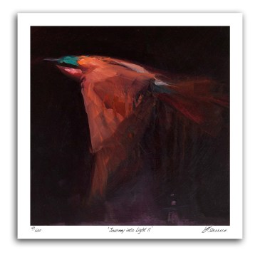 The Studio Art Gallery - Journey Into Light II by Yola Quinn - Archival Print on Paper