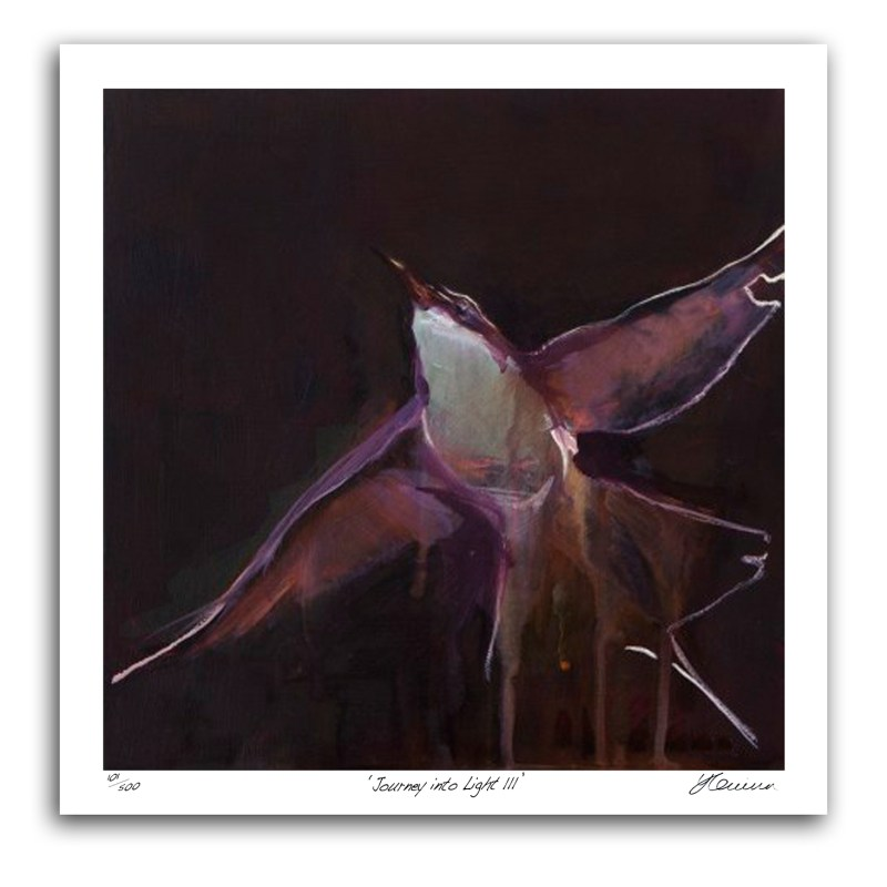 The Studio Art Gallery - Journey Into Light III by Yola Quinn - Archival Print on Paper