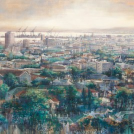 Karen Wykerd | The Studio Art Gallery - 'I only count the hours that are serene' - Eco-Logic Awards 2019 - Artist for Nature Exhibition