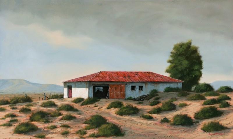 The Studio Art Gallery - Karoo Barn 852 by Donna McKellar