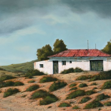 The Studio Art Gallery - Rhodes Barn 851 by Donna McKellar