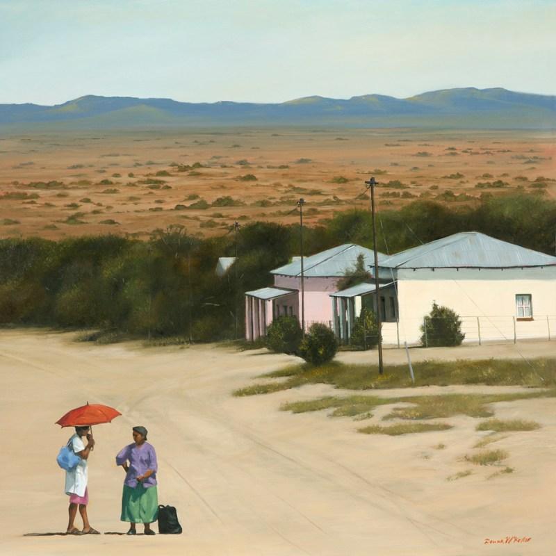 The Studio Art Gallery - The Conversation 861 by Donna McKellar