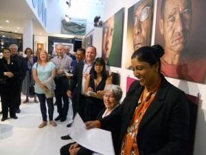 The Studio Art Gallery - St John - Vision 20 20 Opening Pic 19