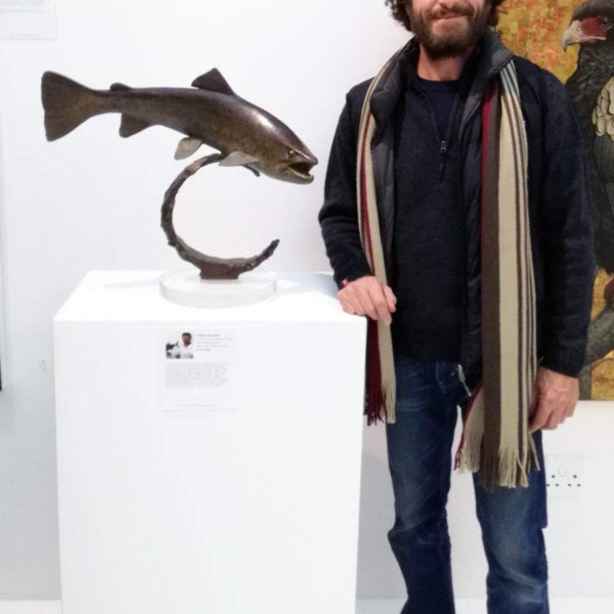 The Studio Art Gallery - Eco-Logic Awards 2019 - Artists for Nature Exhibition Pic 35 - Chris Bladen