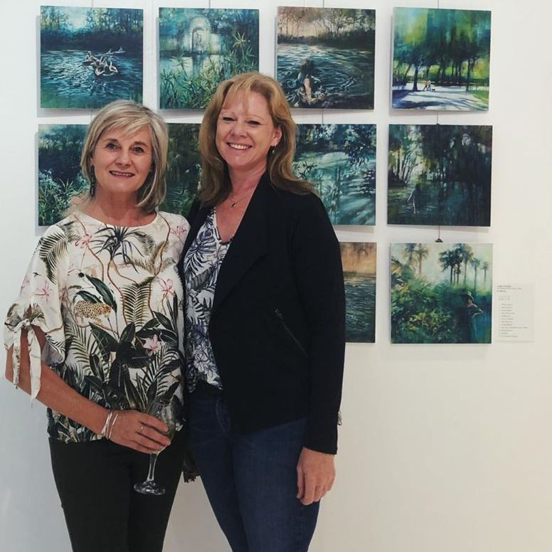 Karen Wykerd | The Studio Art Gallery - Exhale - Opening Pic 5