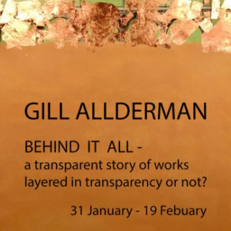 Gill Allderman | The Studio Art Gallery | Behind IT ALL - Solo Exhibition - Icon Image