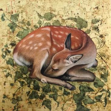 Sleeping Fawn