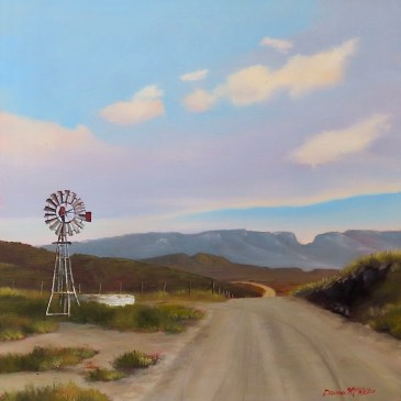 Donna McKellar | The Studio Art Gallery | Unpetrified - The Open Road Ahead 901