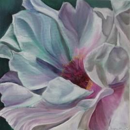 The Studio Art Gallery   2021 Mandela Day Block Art Exhibition   Amelia Mariella - White Flower