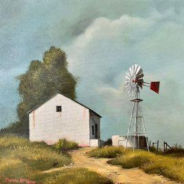 The Studio Art Gallery   2021 Mandela Day Block Art Exhibition   Donna McKellar - Karoo Farm Stall