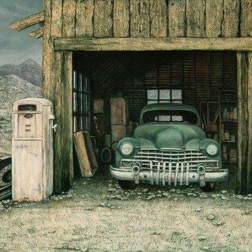 The Studio Art Gallery | 2021 Mandela Day Block Art Exhibition | James Alexander - Vintage Car