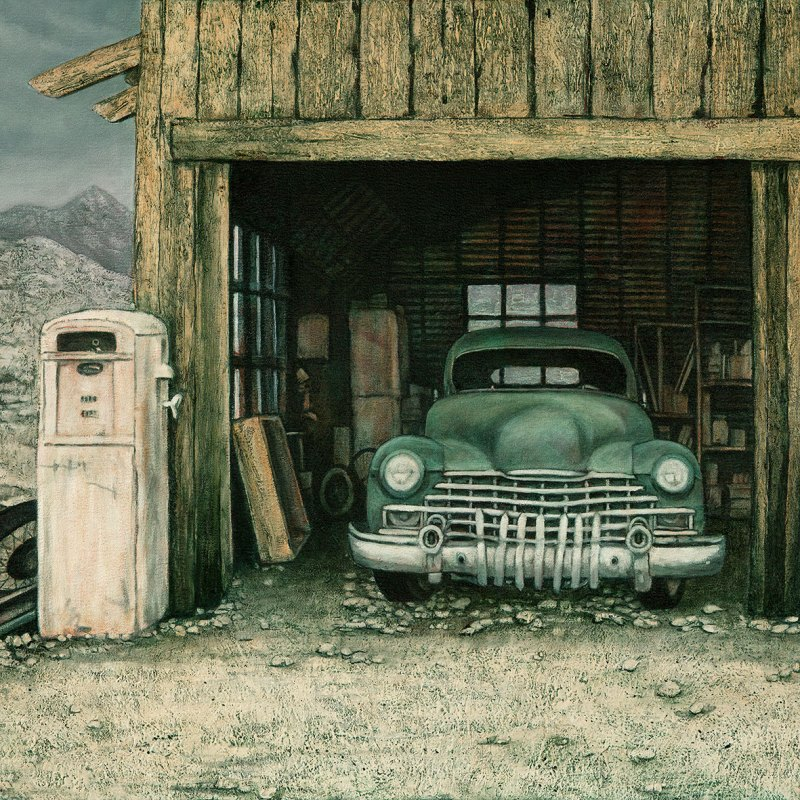 The Studio Art Gallery   2021 Mandela Day Block Art Exhibition   James Alexander - Vintage Car