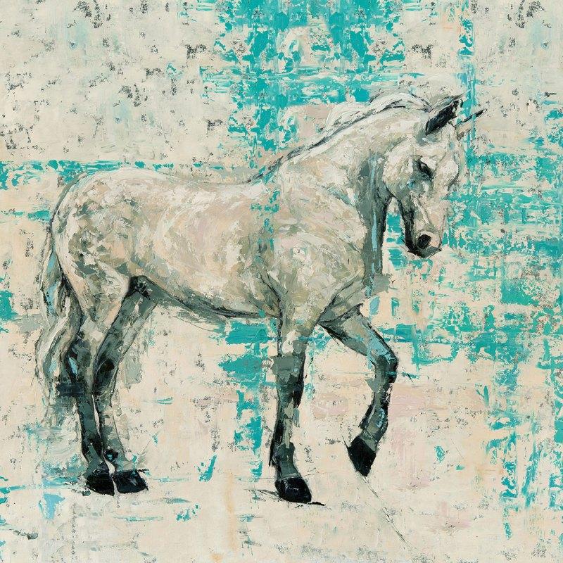 The Studio Art Gallery   2021 Mandela Day Block Art Exhibition   Marc Alexander - Wild Horse
