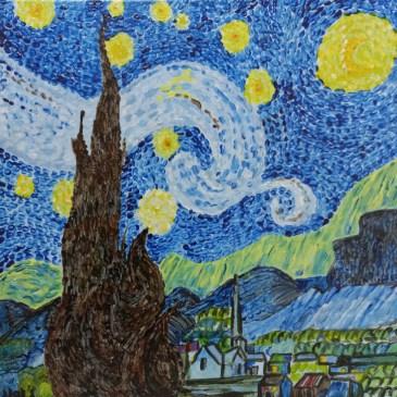 The Studio Art Gallery | 2021 Mandela Day Block Art Exhibition | Natalie Walmsly - Reminiscent of Van Gogh