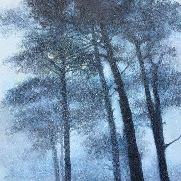 The Studio Art Gallery | 2021 Mandela Day Block Art Exhibition | Paula DuBois - Seeing The Wood For The Trees II