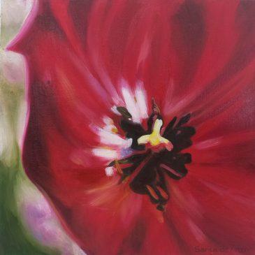 The Studio Art Gallery | 2021 Mandela Day Block Art Exhibition | Sarita De Kroon - Tulip Heart