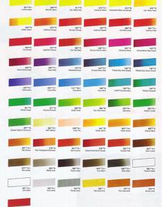 Cryla acrylic colour chart at online discounts also acrylics hints and tips charts rh studioarts