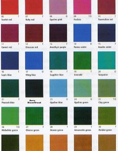 Porcelaine paint colour chart also information and page from studio arts rh studioarts