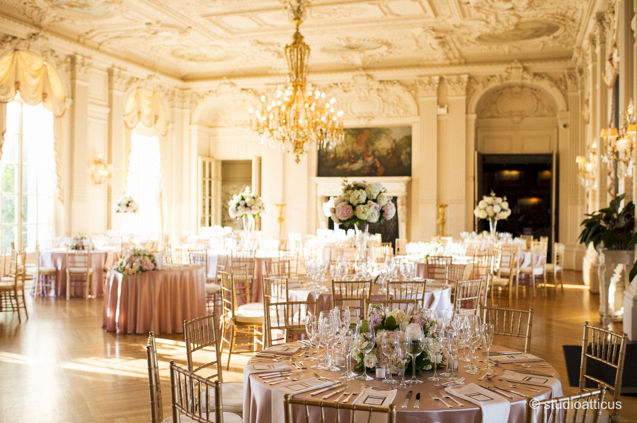 Artistic Rosecliff Mansion Wedding Photography By