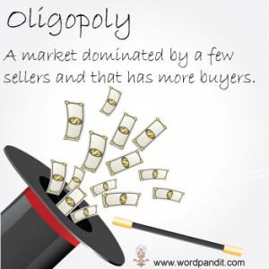 pengertian contoh pasar oligopoli