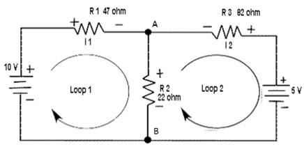 contoh analisis rangkaian listrik dinamis