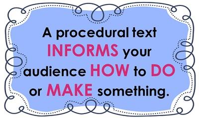 procedure text pengertian dan contoh