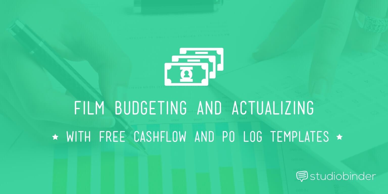 Film Budget Cashflow Template and P.O. Log | StudioBinder