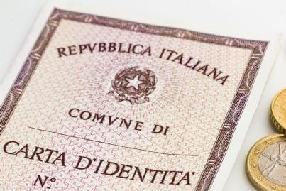 carta di identità italiana