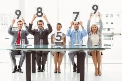 commissione che valuta durante selezione concorso