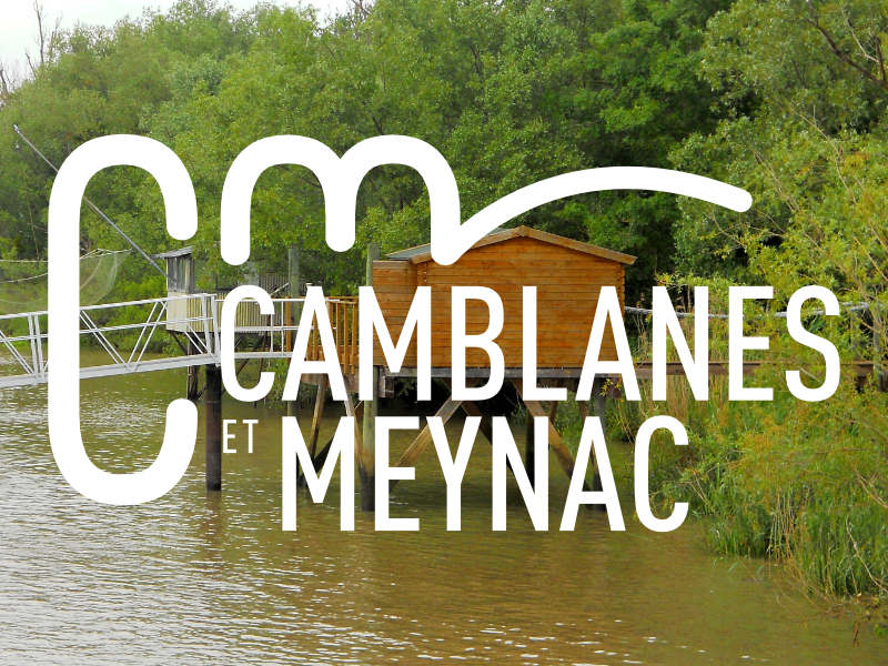 <h3>Camblanes et Meynac </h3></br>Logotype