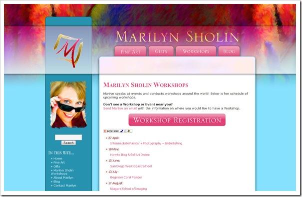 MarilynSholin.com