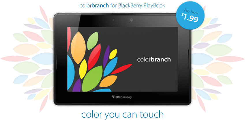 colorbranch Touch for BlackBerry PlayBook - Get it in App World