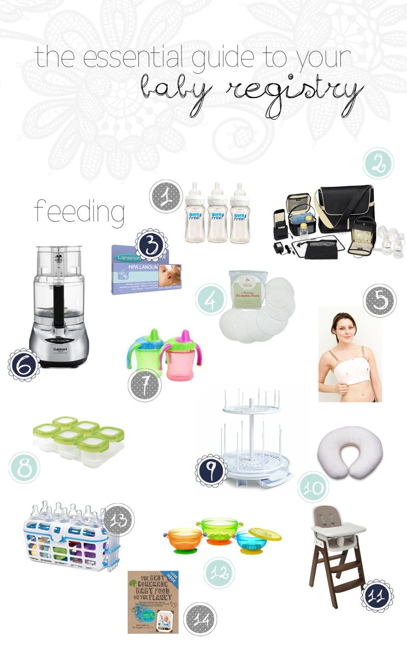 Your Baby Registry Checklist , Health Magazine, Baby