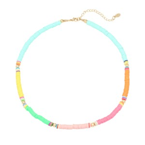 Surf babe ketting multi color
