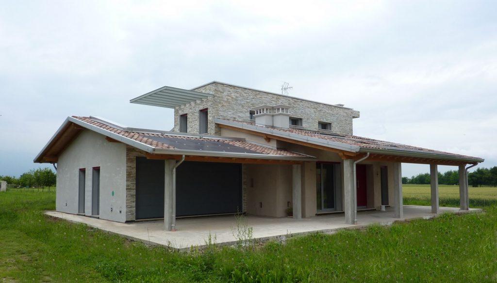 Casa ecologica passiva a Thiene Vicenza casa in legno architetto studio di architettura