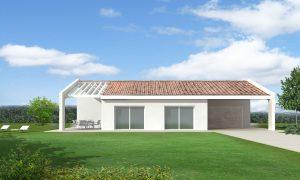 Casa ecologica passiva a Salgareda Treviso casa in legno in classe oro Casaclima