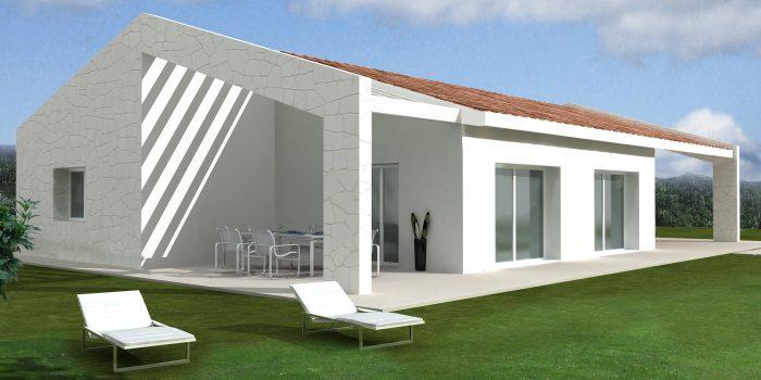 Casa ecologica passiva a Pederobba Treviso casa in