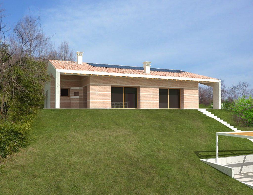 Casa ecologica passiva a Maser Treviso case in legno case ecologiche treviso architetto