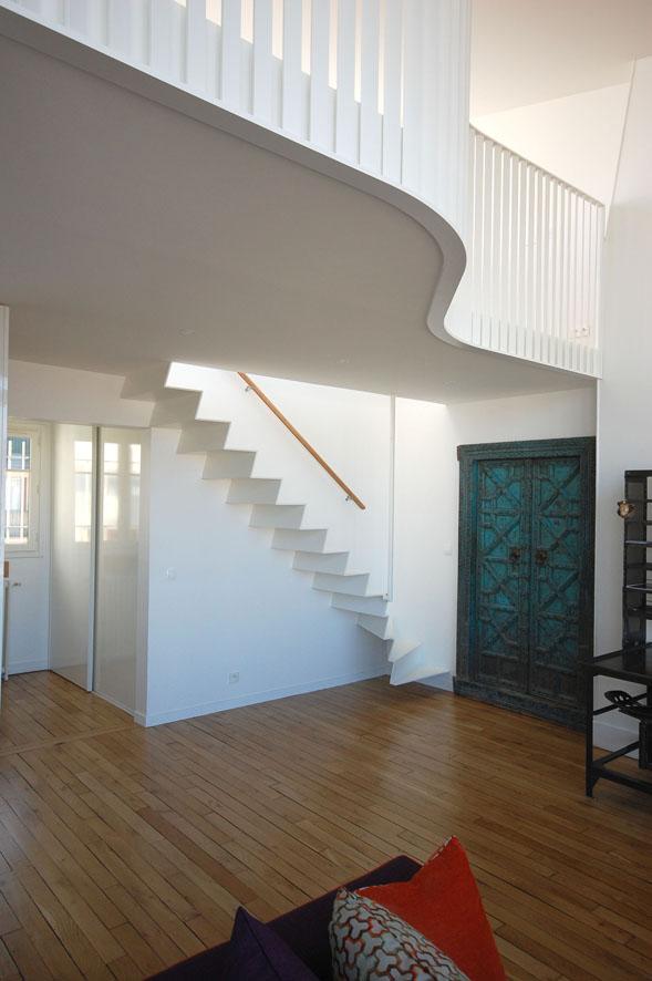 Double hauteur et mezzanine