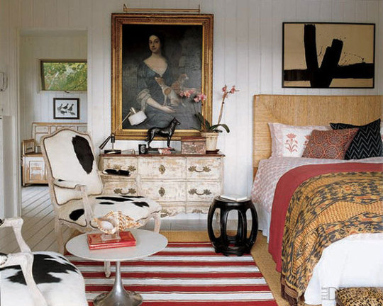 Random stuff Bring it all together in an eclectic decorating style
