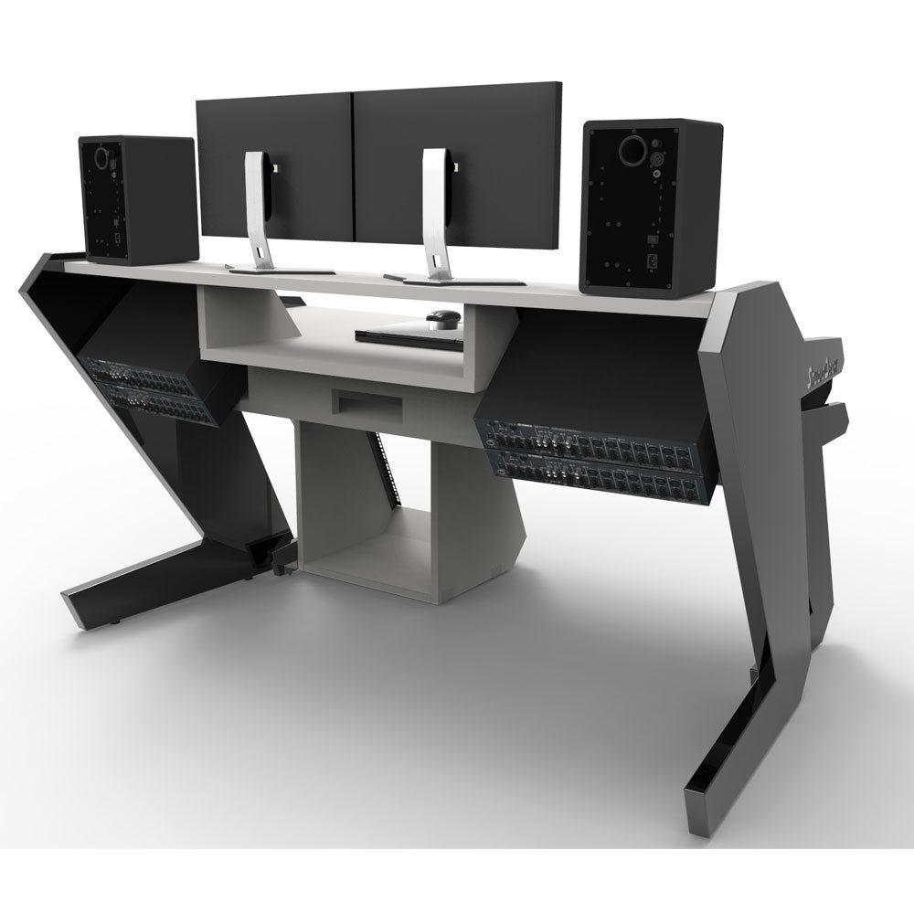 Music Commander Full Set Black  Studio Desk Workstation