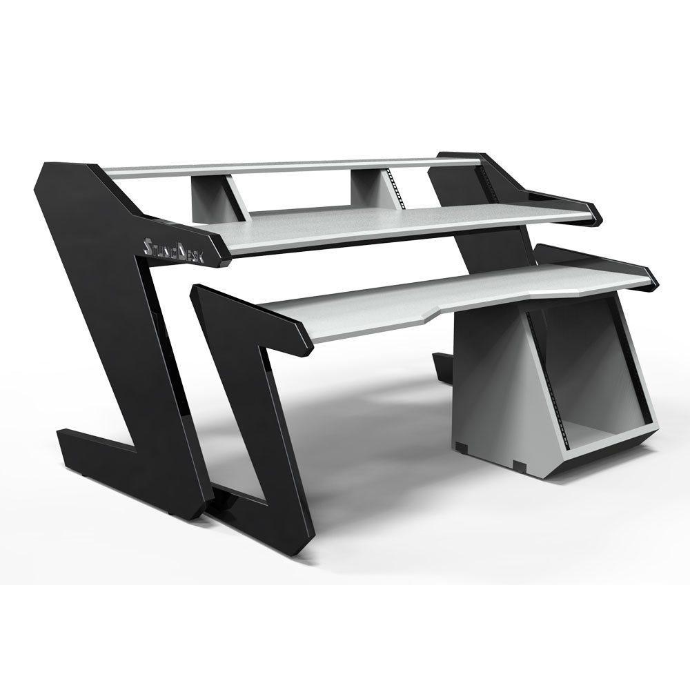 Music Commander Full Set White  Studio Desk Workstation