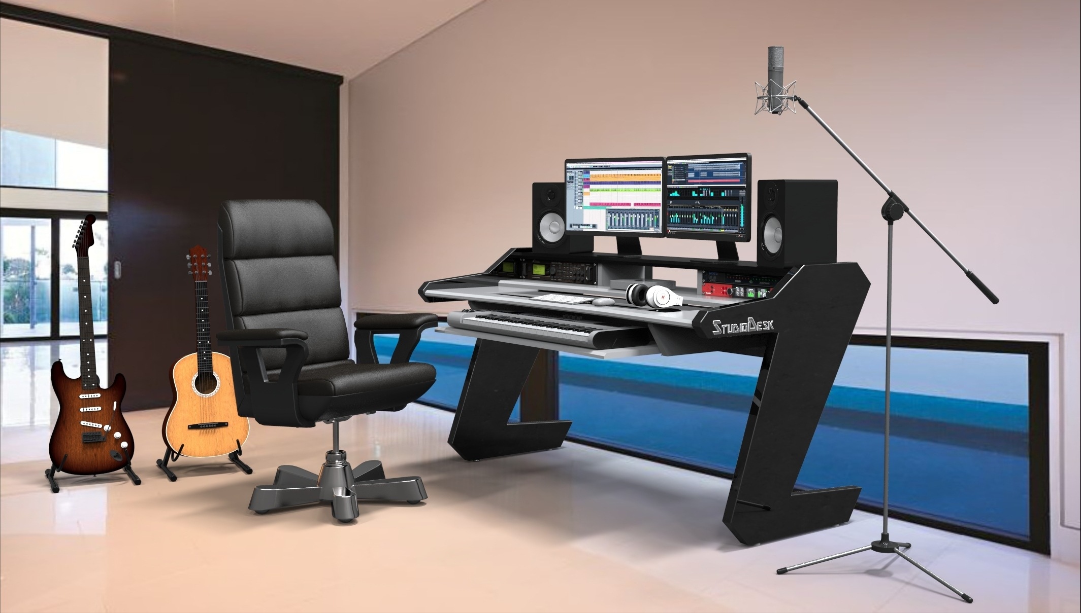 Music Studio Desks  The Desk you deserve StudioDesk