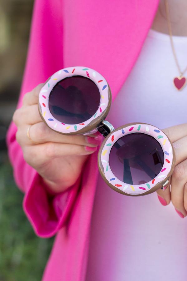 DIY Donut Sunglasses