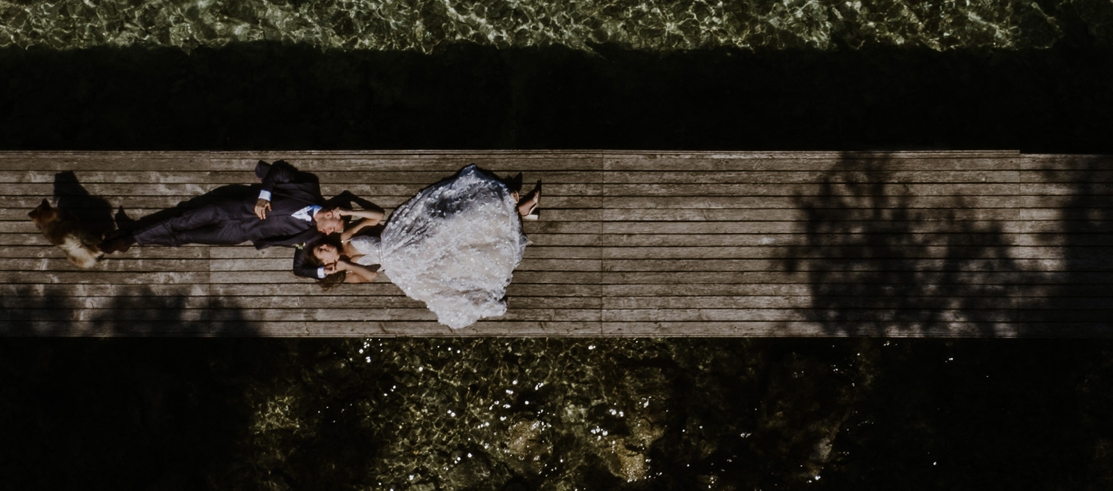 The richness of the scenery for us wedding photographers and videographers