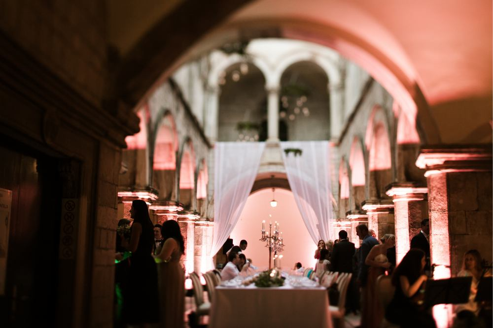 Dubrovnik Wedding - Rich gastronomy