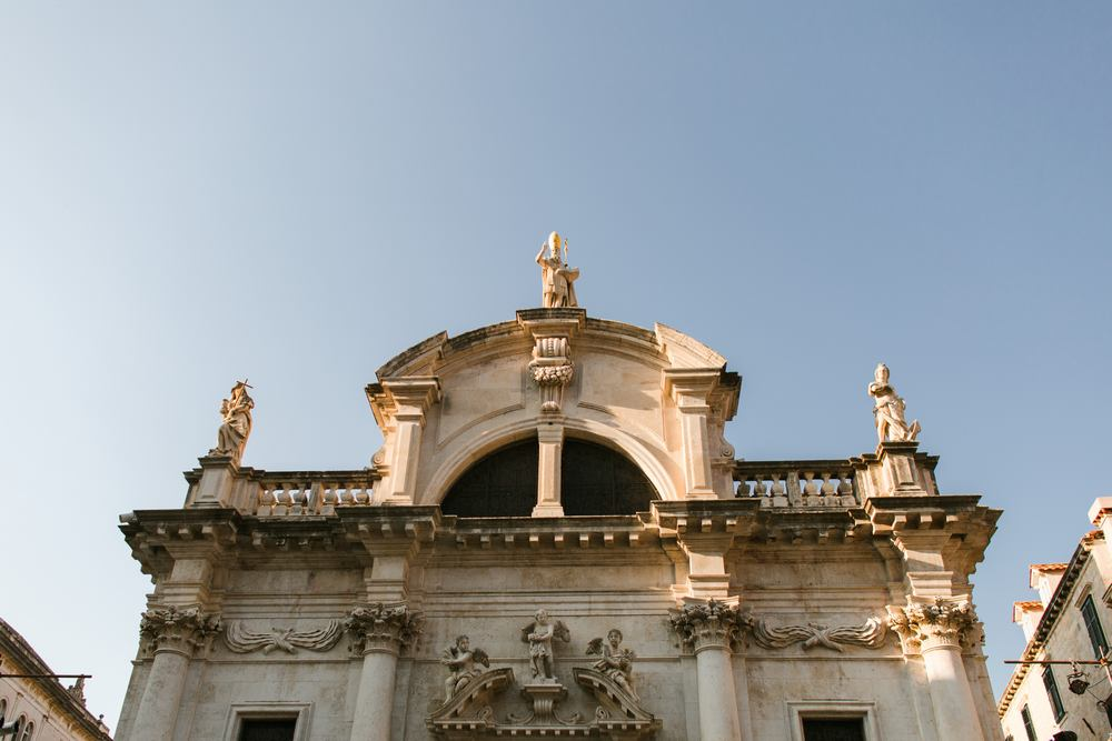 St. Blaise's Church is a place of meditation and calm. A perfect venue for Dubrovnik Weddings