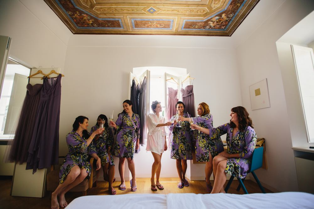 The Bridal party - Weddings in Dubrovnik Villa