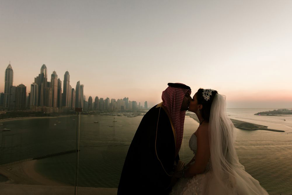 Saudi wedding in Dubai