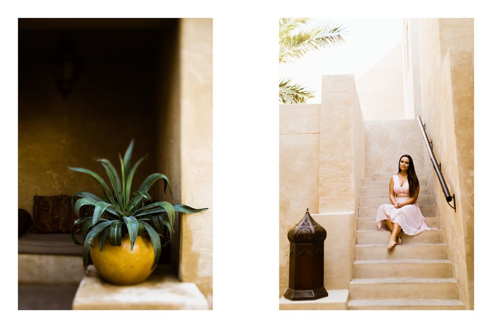Desert wedding venue Bab Al Sham by Dubai wedding photography